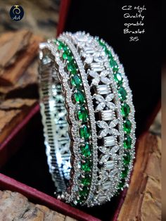 Diamond Bracelets, Diamond Jewelry, Bangles, Quirky Fashion, Gemstones, Silver, Gold, Bling, Jewellery