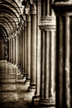 Photograph In the shade III by Tomasz Naglik on Archways In Homes, Roman Columns, Greek Design, Shadow Play, Architecture Details, Cool Photos, Amazing Photos, Black And White Photography, Light In The Dark