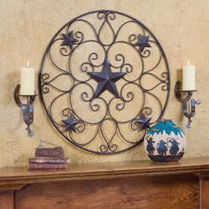 2012 Western Decorating Trends: Crosses, Stars and Longhorns... Oh My! | Stylish Western Home Decorating