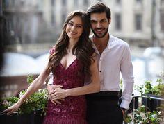 Yeni Gelin dizisinin başrol oyuncuları yılın en aşık çifti olmaya şimdiden aday.