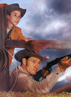 Chuck Connors, Johnny Crawford -  The Rifleman (1959)