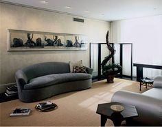 Unique Contemporary Living Room Design