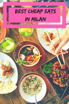 The best Milan cheap restaurants - the best pasta, pizza and gelato in Milan, the best Chinese and Japanese places. Milan cheap eats near the Duomo & more! Restaurant Milan, Milan Restaurants, Italian Food Restaurant, Food Places, Best Places To Eat, Milan Food, Milan Travel, Italy Vacation, Italy Trip