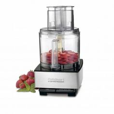 Cuisinart Brushed Stainless Steel Custom 14 14-Cup Food Processor