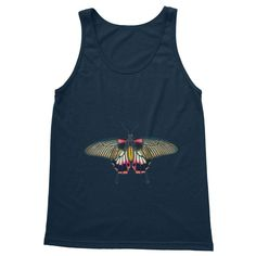 Sun's out, guns out! This printed tank top will keep you cool in the hot weather, and looking pretty fine too. Keep Your Cool, Tank Man, Guns, Butterfly, Weather, Tank Tops, Printed, Brown, Hot