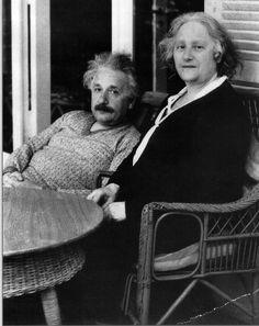 Albert and Elsa #alberteinstein