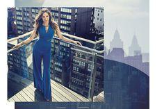 Campanha Primavera Verão 2014 2015 Maria.Valentina, fotografada no Hotel Standart East Valley, em Nova York, estrelada por Sarah Jessica Parker. #newyork #ny #sarahjessicaparker #sjp #fashion #mariavalentina #moda #summer #spring #verão2015 #blue #jumpsuits #macacão
