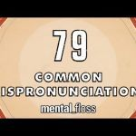 79 common mispronunciations