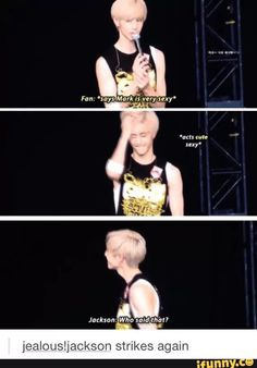 oh the markson moments lol