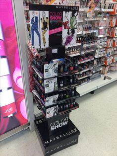 POP display for MAYBELLINE
