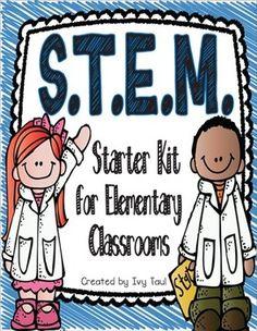 STEM Engineering Starter Kit for Teachers {elementary level}