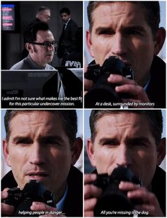 Person of Interest - Reese and Finch