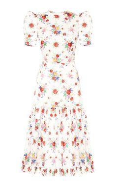 THE HUMMINGBIRD DRESS – The Vampire's Wife Peacock Dress, Butterfly Dress, Flower Dresses, Fall Dresses, The Vampires Wife, Beautiful Summer Dresses, Belle Dress, Cinderella Dresses, 1970s Dresses