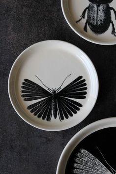 Day Birger Et Mikkelsen Ceramics - Moth 14 6cm dia Cake Plate