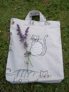 http://de.dawanda.com/shop/sonnenlicht Katzenfreundin Tasche