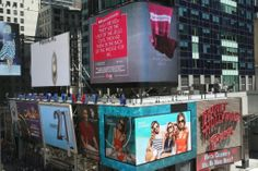 LG just put my #MomConfessions message on their Times Square billboard! Tweet your own pic or message using #MomConfessions, and yours could go up too.