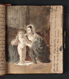 'The Virgin and Child, after Guercino' 1802