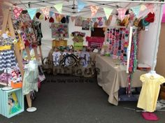 Curly Girly Boutique's Craft Booth at Holland Happening.