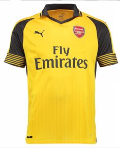 9137d72e8bc  16 ARSENAL 16 17 SOCCER JERSEY SOCCER SHIRT AWAY Arsenal Jersey