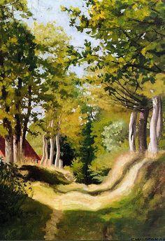 Undergrowth , 1904 , by Felix Vallotton