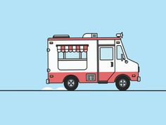 Ice Cream Truck designed by George Markelov. Connect with them on Dribbble; the global community for designers and creative professionals.