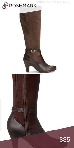 3eaf50ed4ac aerosoles brown boots cloudscape size 9