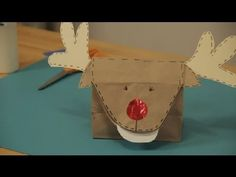 Paper Bag Christmas Crafts : Christmas Crafts