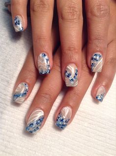 Marble by  AlysNails