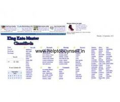 Kingkatomaster.com | Worldwide Classifieds - Helptobuynsell.in : Post Free Ads