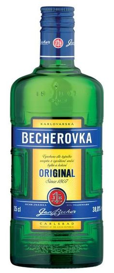 It's doesn't get much more Bohemian than Becherovka, an herbal Czech liqueur that sometimes moonlights as a digestif. Made with a secret mixture of herbs and spices, Becherovka has a flavor that suggests cinnamon and ginger. It's wintertime goodness in a bottle.