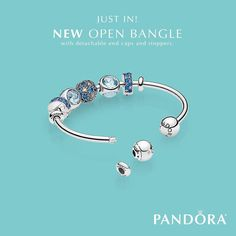 "297 Likes, 5 Comments - PANDORA Store Mall Of America (@pandoramoa_becharming) on Instagram: ""This just in! A versatile and innovative new bracelet concept, the Open Bangle has detachable end…"""