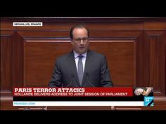REPLAY - Watch French President Hollande's exceptional address to Congress after Paris Attacks - YouTube