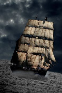 I've always wanted to sail on a ship like this! I love real sailing ships.