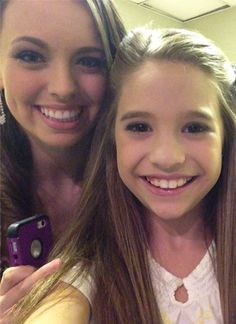 Payton Ackerman and Mackenzie Ziegler