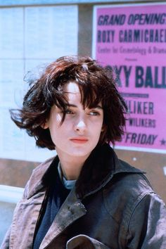Que signifie androgyne pour votre coiffure - - Androgynous Pretty People, Beautiful People, Winona Forever, Hair Inspiration, My Hair, Short Hair Styles, Hair Cuts, Hair Beauty, Celebrities