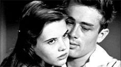 James Dean and Lois Smith