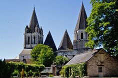 Church of Loches, France