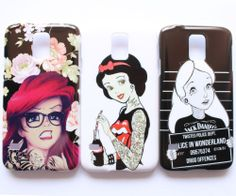 Treason Alice Ariel Snow White Punk Tattoo Pattern Samsung Galaxy S5 Case Cover