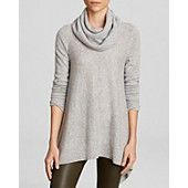 C by Bloomingdale's Cowl Neck Cashmere Sweater