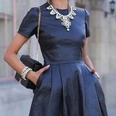 #fashion #dress #bluedress