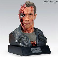 Terminator 2: T-800 - Life-Size Büste, Fertig-Modell ... http://spaceart.de/produkte/te016.php