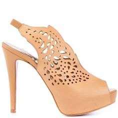Talia - Camel Leather by Paris Hilton