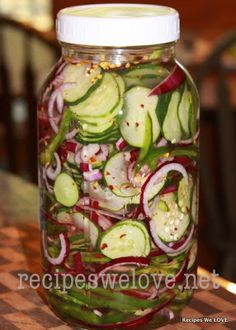 Recipes We Love: Refrigerator Cucumber Salad
