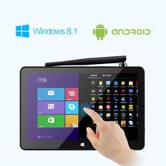 Pipo x8 32gb z3736f quad core 1.33GHz 7 pouces tablette dual boot mini pc
