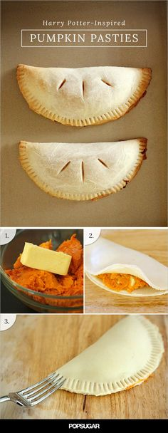 Pin for Later: Let These Harry Potter-Inspired Pumpkin Pasties Cast a Spell on Your Taste Buds