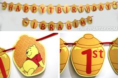 Time2Partay.blogspot.com: Winnie the Pooh Themed Party Items