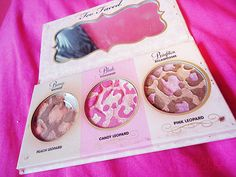 Too Faced leopard collection <3 <3
