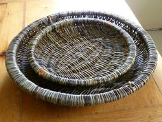This gallery shows a few examples of Alison's work. Willow Weaving, Basket Weaving, Big Basket, Bamboo Architecture, Bamboo Furniture, Vintage Baskets, Weaving Art, Textiles, Wicker Baskets