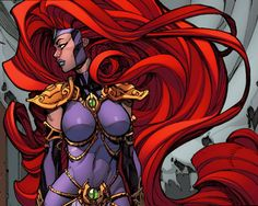Queen Medusa by Joe Madureira