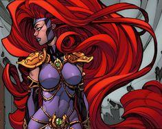 Queen Medusa by Joe Madureira